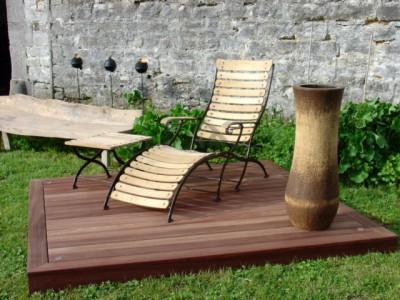 Le mobilier de jardin la maison verte - Mobilier de jardin fait maison villeurbanne ...